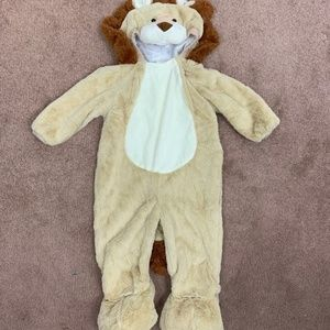 Halloween Costume Lion Cream Sz: 18-24M